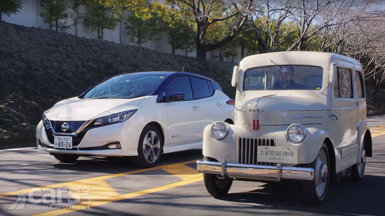 From the 1947 Tama to the 2018 Nissan LEAF - 20 years of Nissan EVs