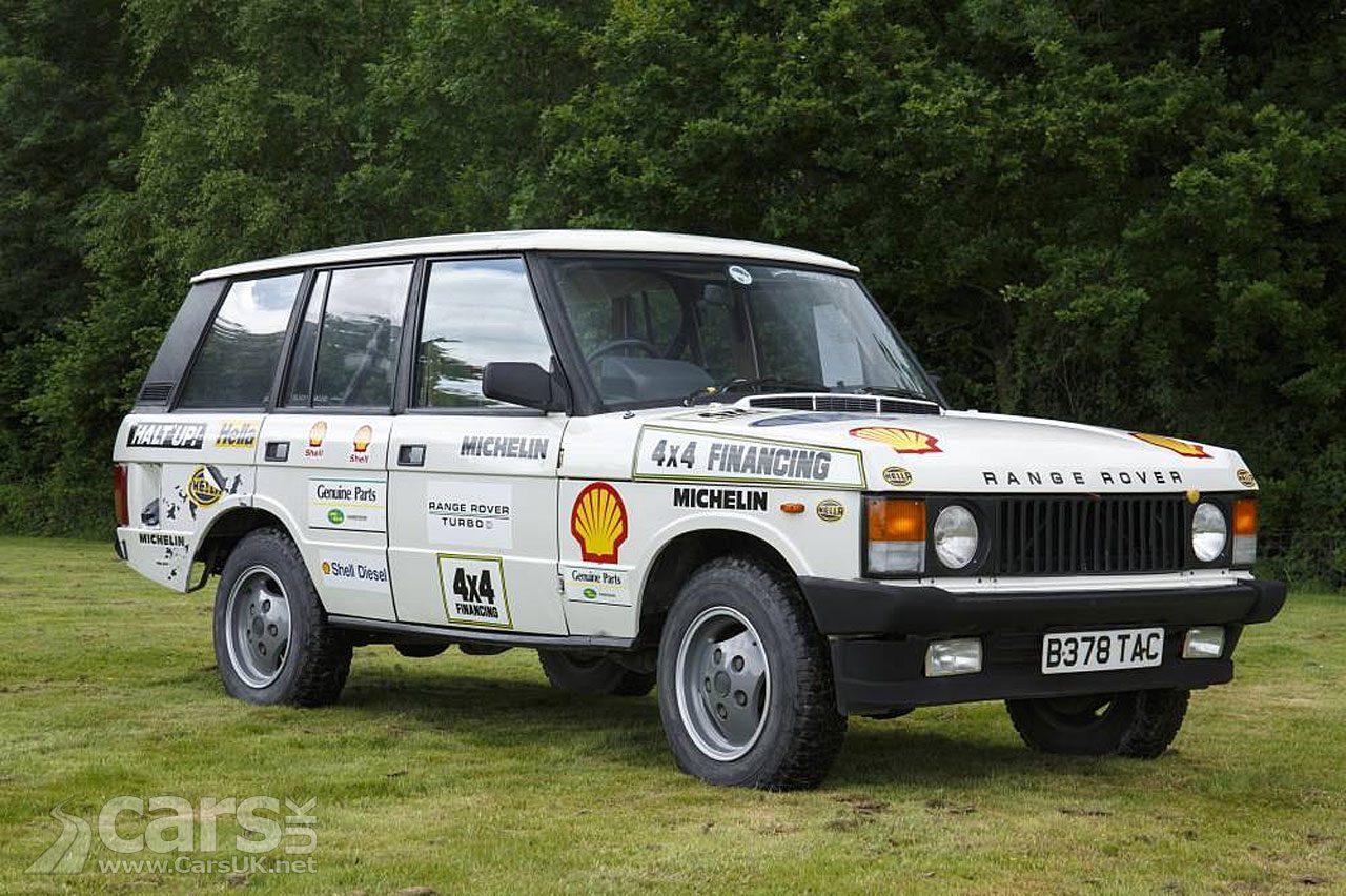 Range Rover Turbo Diesel 'Beaver Bullet'