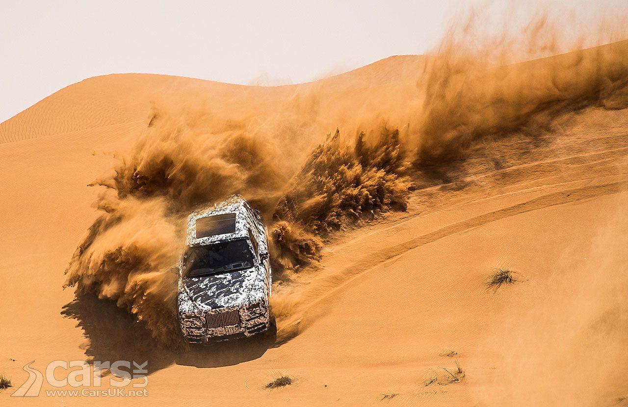Rolls-Royce Cullinan desert dunes in Dubai