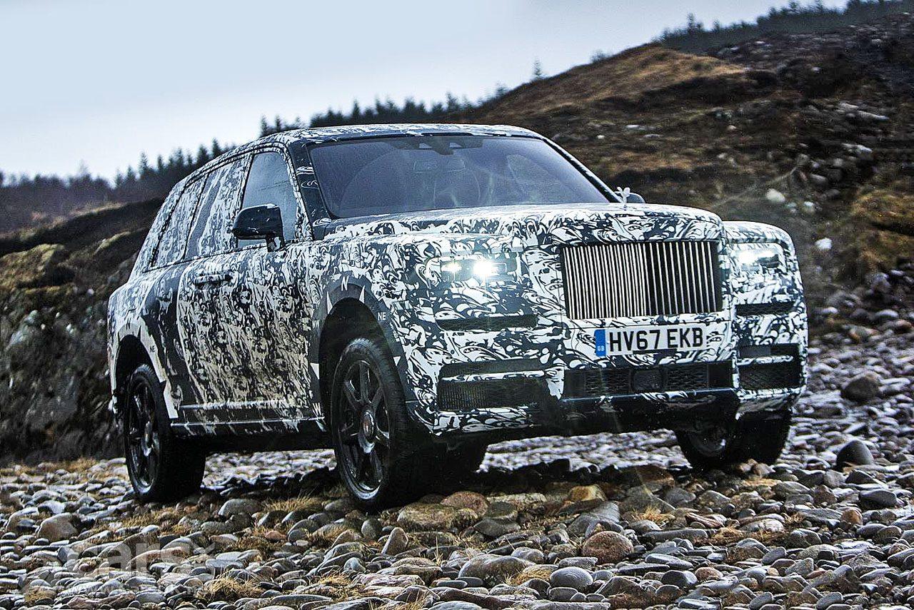 Rolls-Royce Cullinan SUV FINAL testing starts today in Scotland