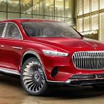Vision Mercedes-Maybach Ultimate Luxury LEAKS – it's a 750bhp Electric HIGH-RIDING Crossover