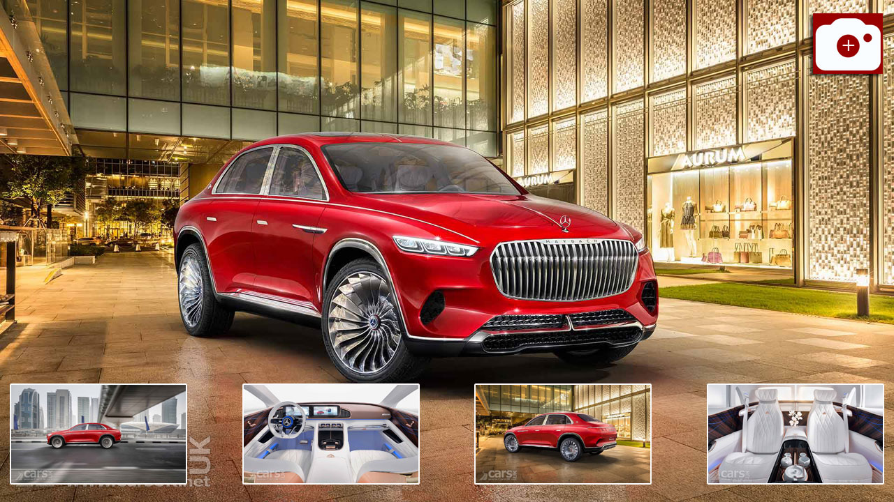 Vision Mercedes-Maybach Ultimate Luxury Concept Photo Gallery