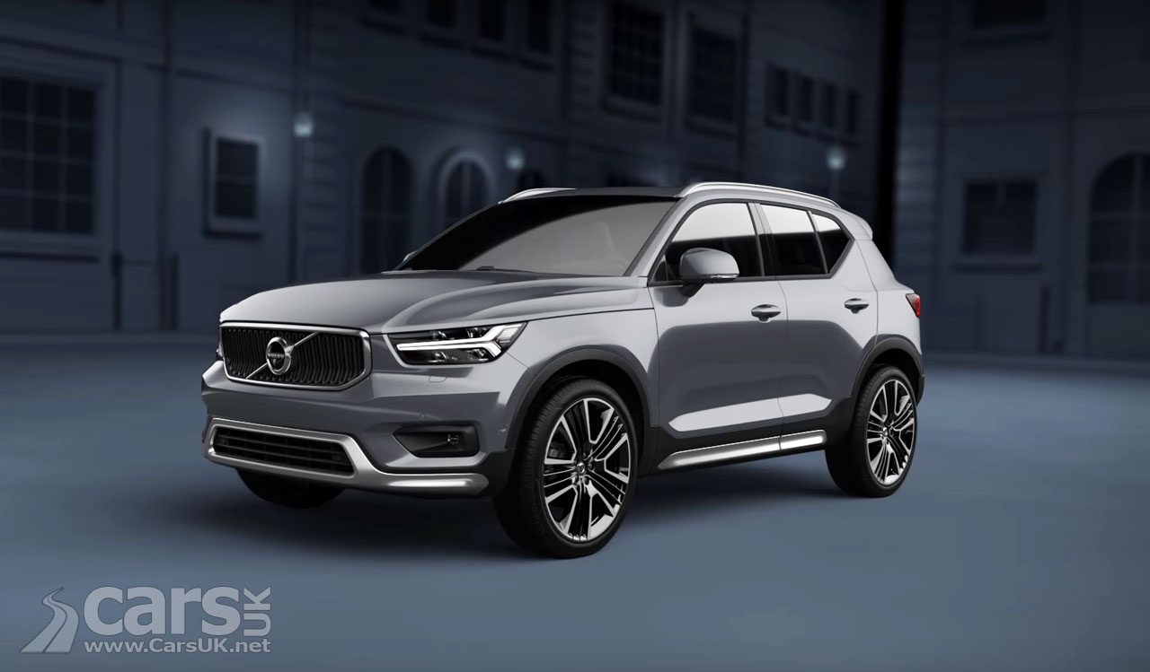 Volvo XC40 - now with added attitude