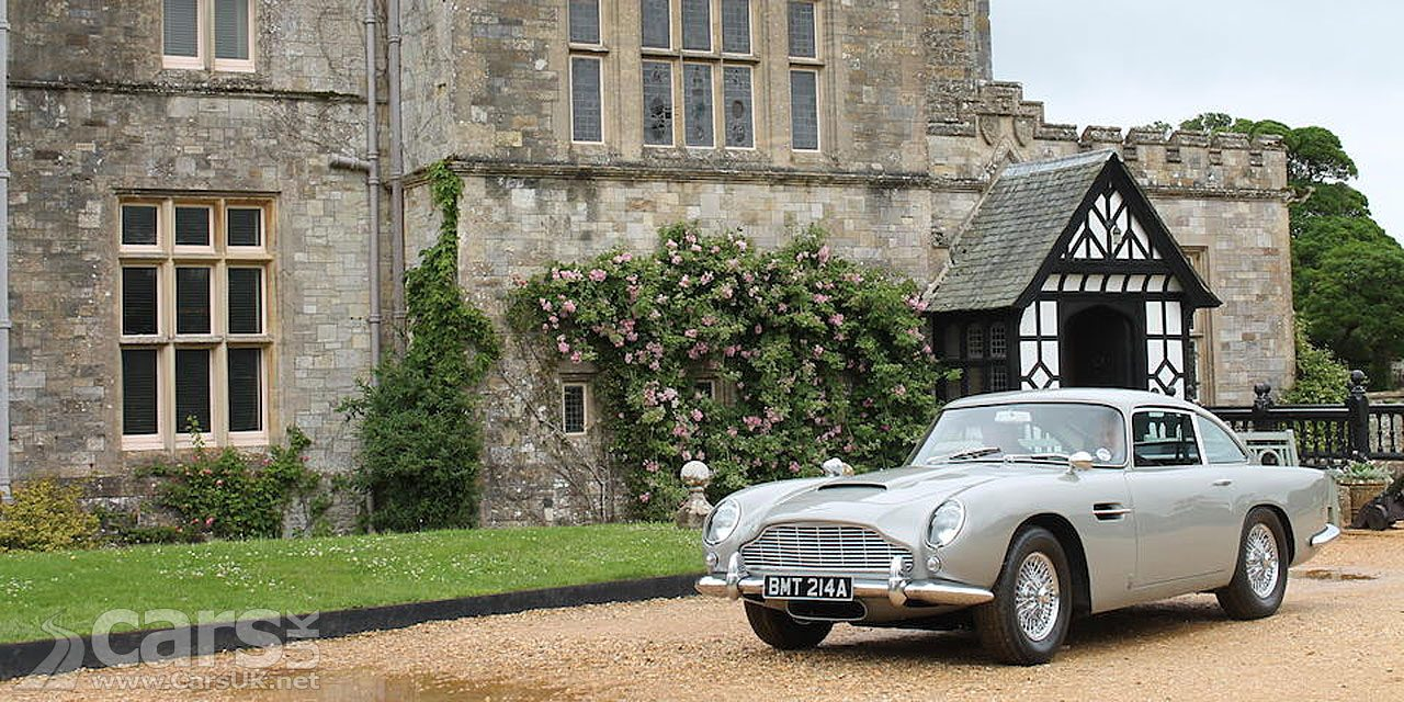 Aston Martin DB5 from the James Bond film Goldeneye