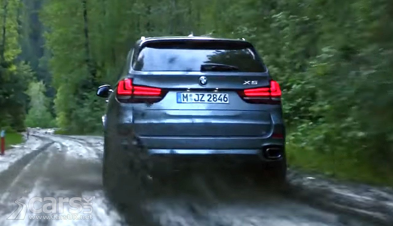This offending skid by a BMW X5 saw BMW's xDrive advert banned in the UK
