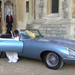 Jaguar Classic's ELECTRIC E-Type does Royal Wedding Duty