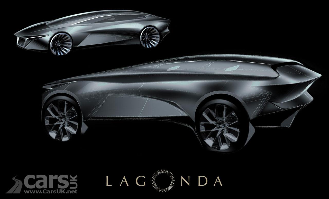 Lagonda electric SUV Concept Sketch