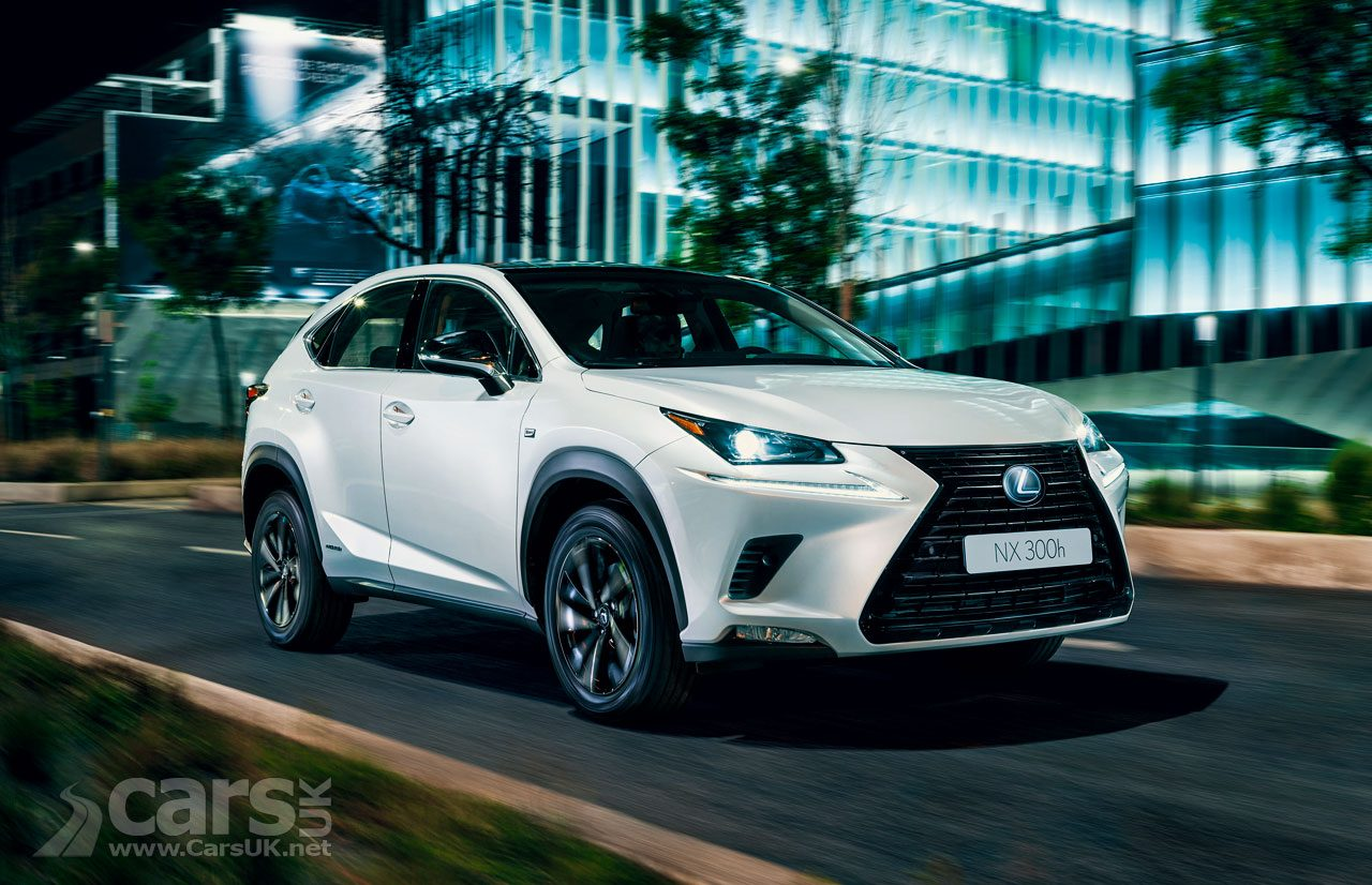 New Lexus NX 300h Sport announced