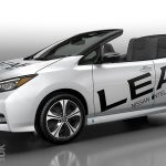 Nissan LEAF Open Air. Yes, it's a LEAF EV without a roof.