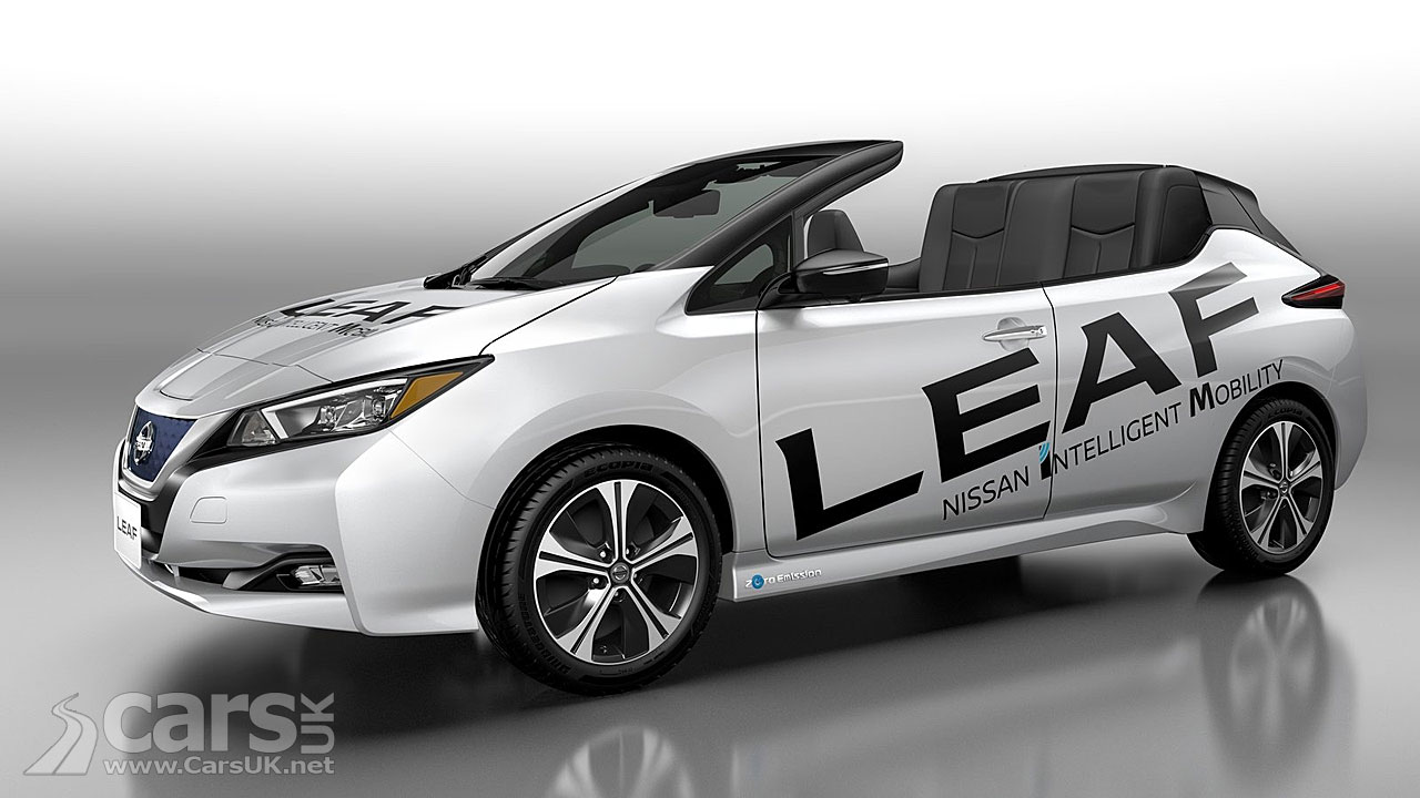 Nissan LEAF Open Air. Could it preview a convertible Nissan LEAF?