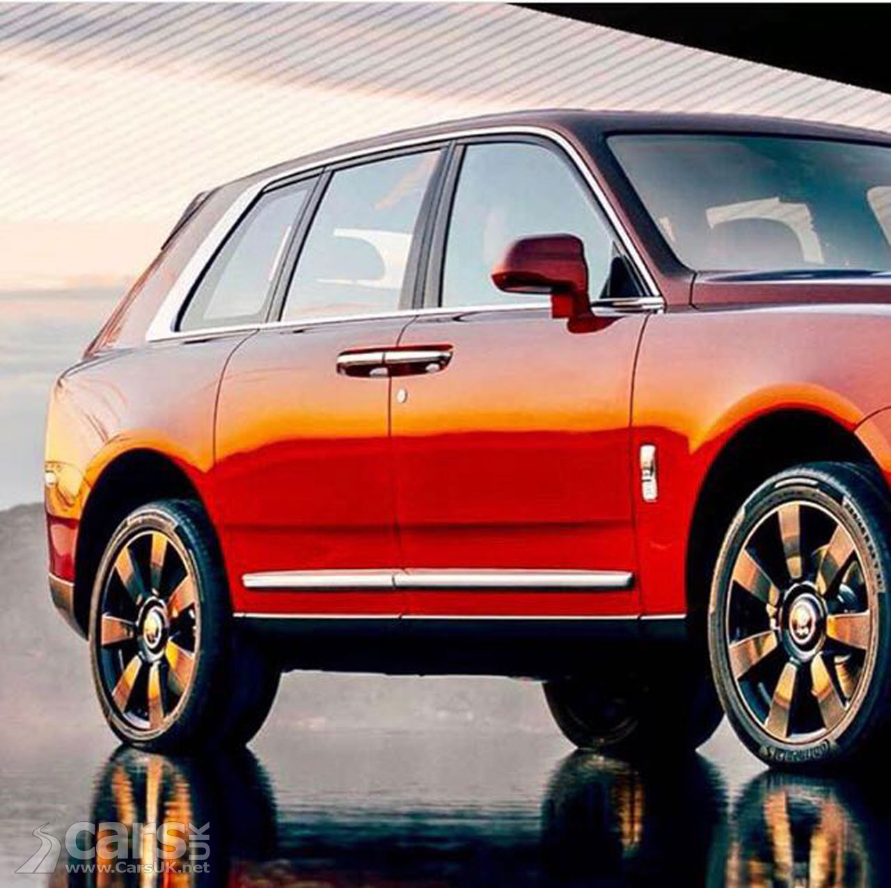 Rolls-Royce Cullinan OFFICIAL Photos LEAK Out Ahead Of
