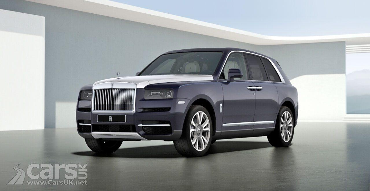 Rolls-Royce Cullinan CONFIGURATOR goes live