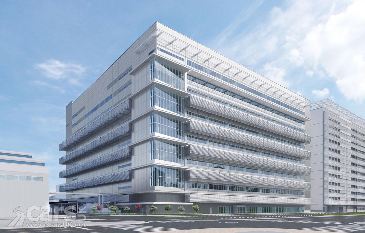 Toyota's new Hydrogen facility in Honshu