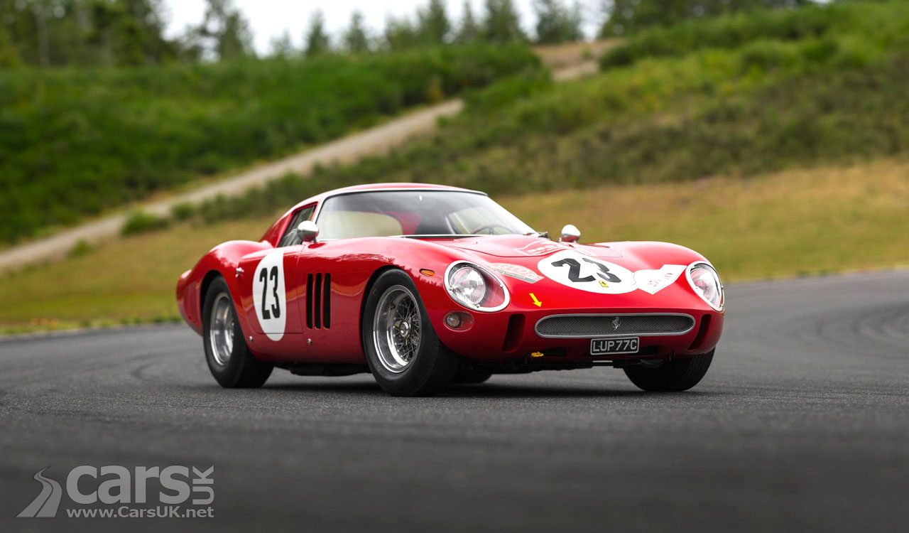 Ferrari 250 GTO, chassis 3413 GT, up for auction