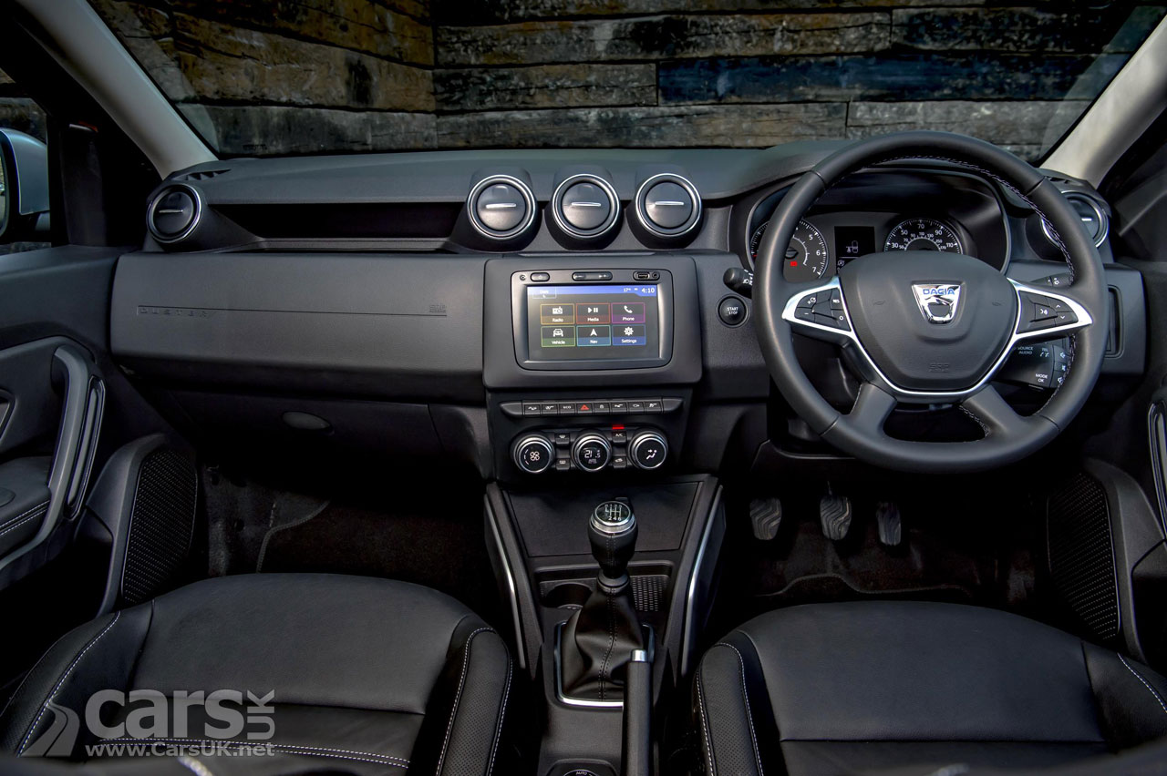 The new Dacia Duster's interior goes more upmarket