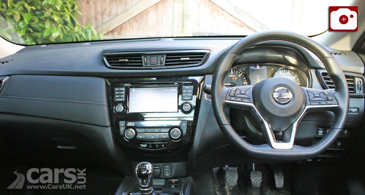 2018Nissan X-Trail Tekna gets a more upmarket interior