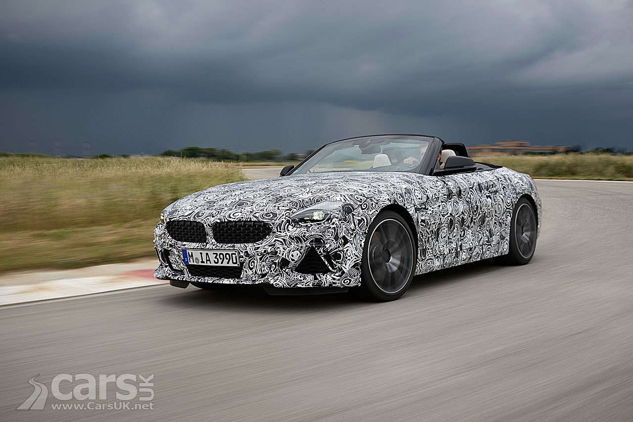 New BMW Z4 M40i TEASED