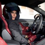 Jaguar F-Type and female racer Aseel Al Hamad celebrate Saudi Women Driving