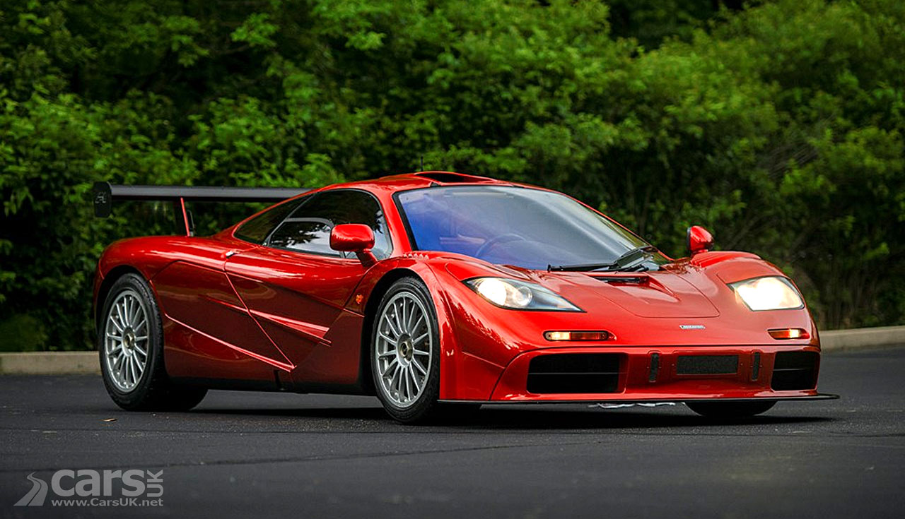 McLaren F1 #073 LM spec up for sale