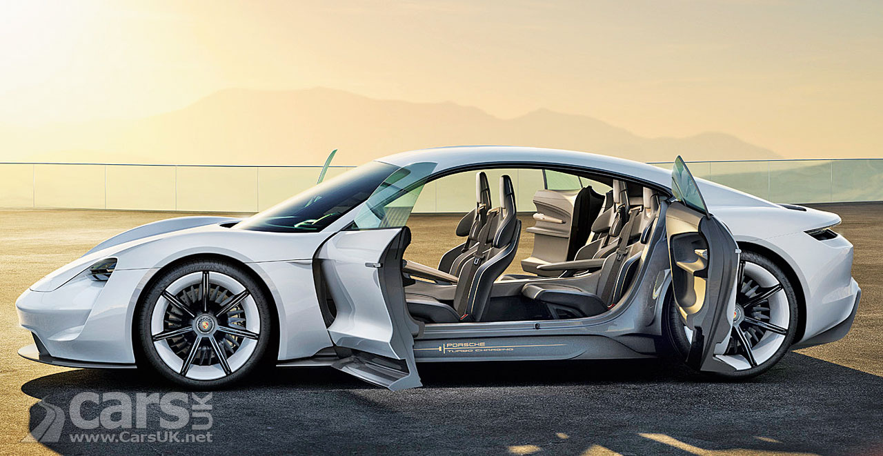 Porsche Taycan is the production name for the electric Mission E