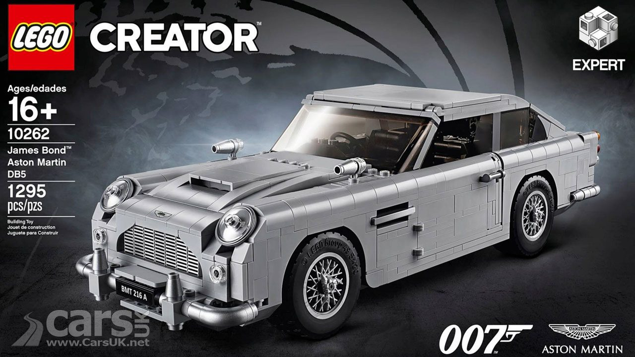 Lego's James Bond Aston Martin DB5