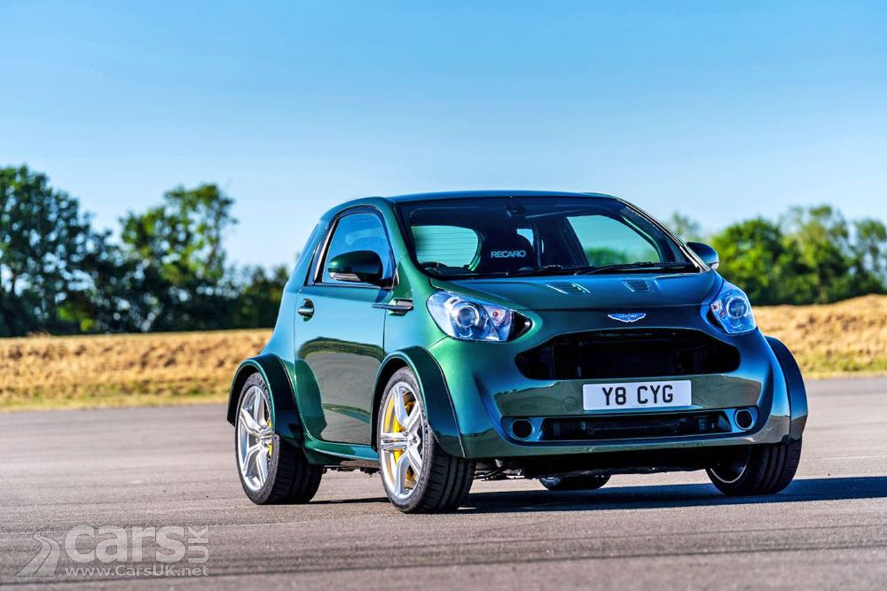 The Aston Martin V8 Cygnet