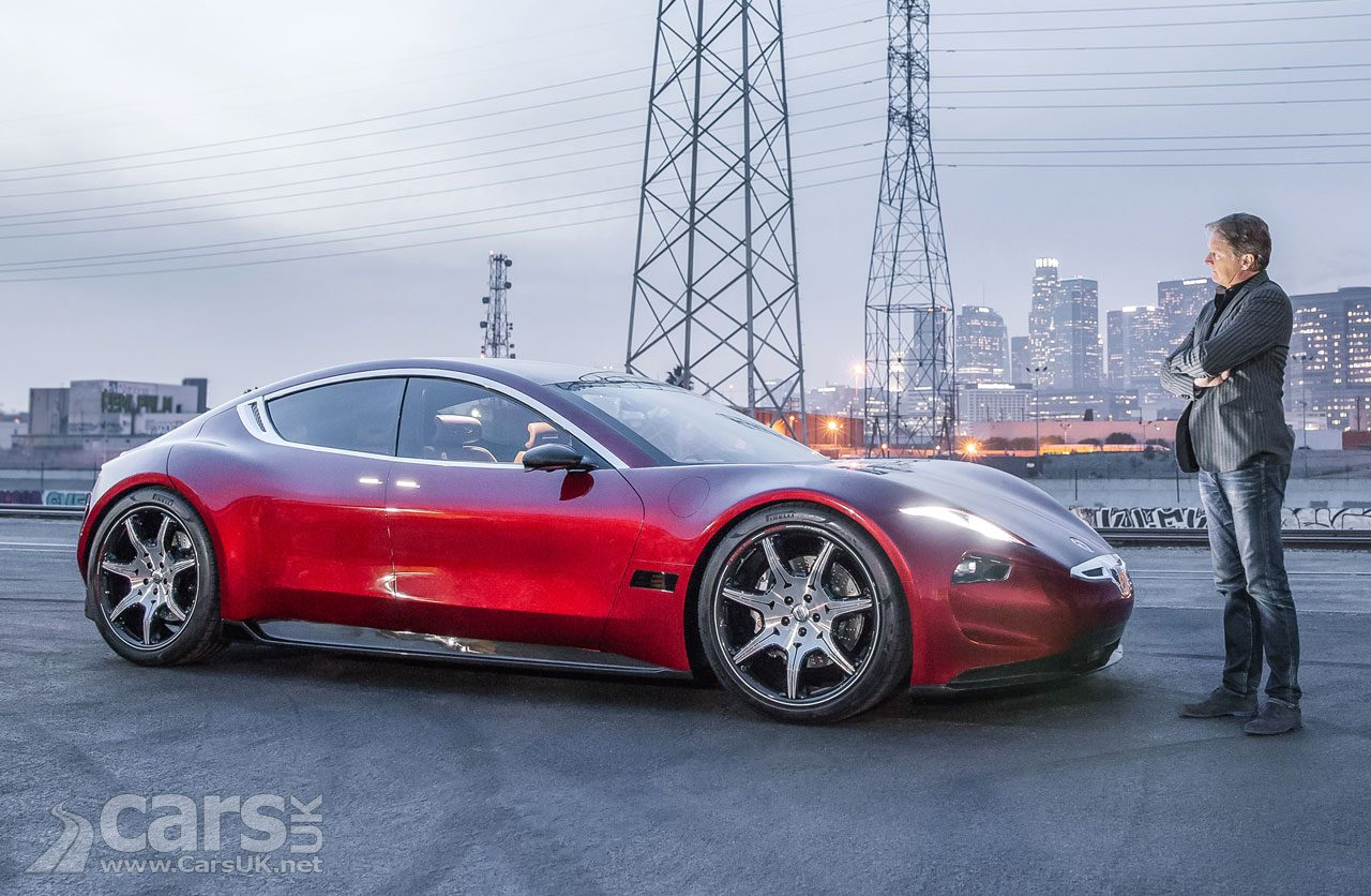 Henrik Fisker (pictured with his EMotion EV) says Solid State batteries will be ready by 2020