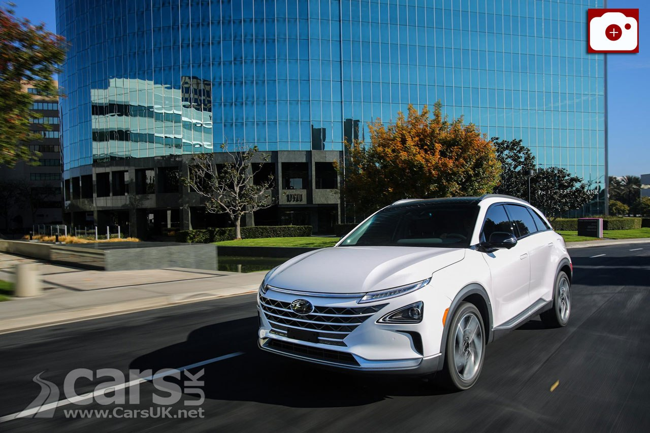 Hyundai Nexo Hydrogen Fuel Cell Crossover selling well