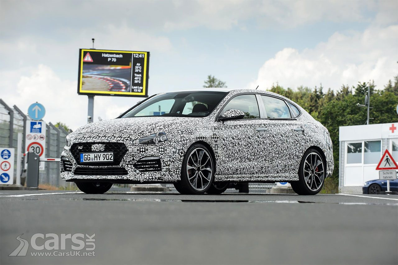 The Hyundai i30N Fastback (pictured) will debut at the 2018 Paris Motor Show