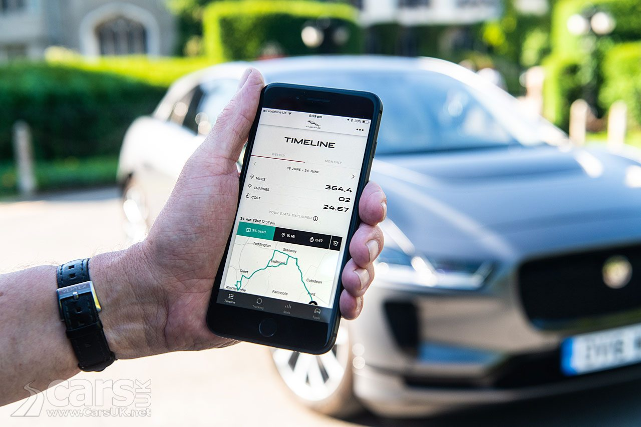 Jaguar's GO I-PACE App