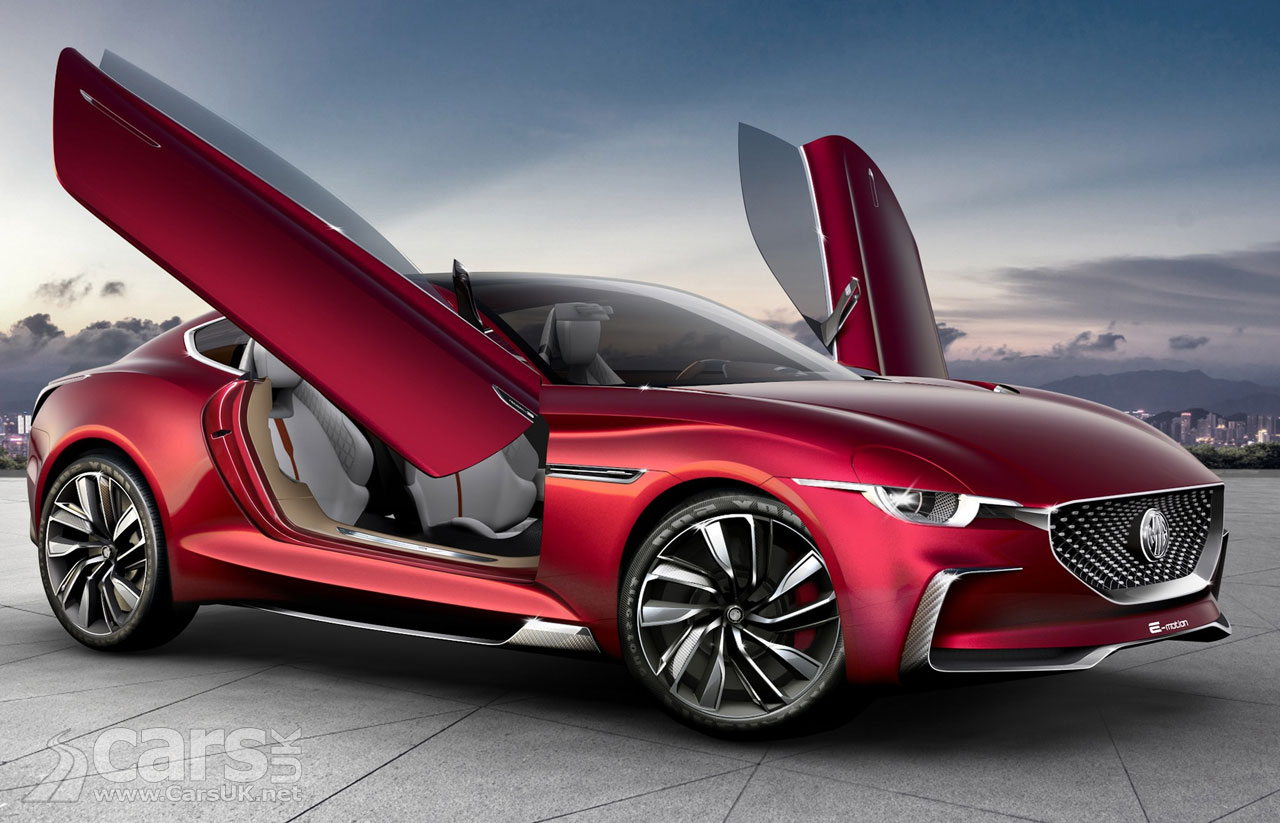 Electric Mg Sports Car The Size Of A