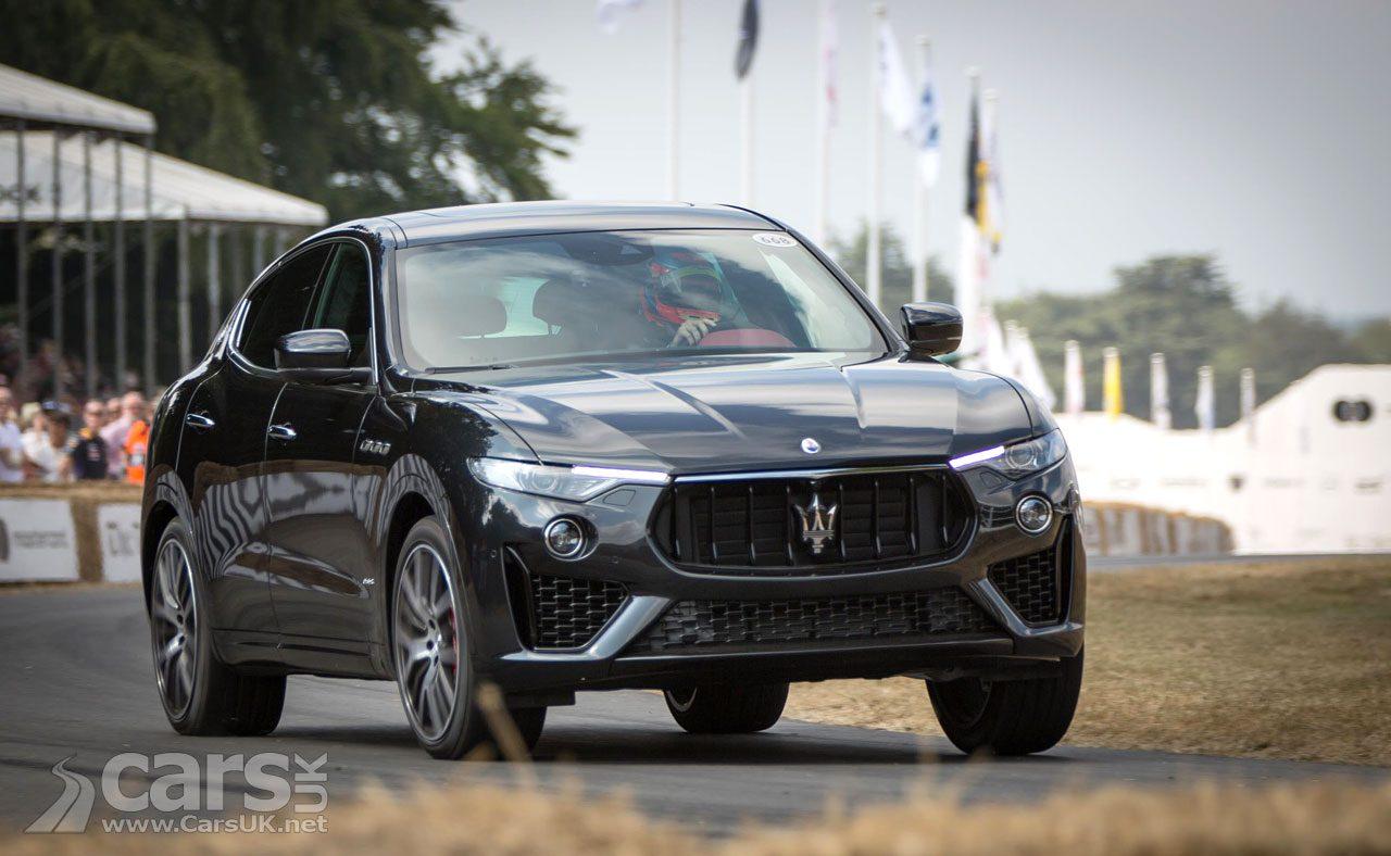 Maserati Levante SUV gets new 346bhp V6 Petrol engine
