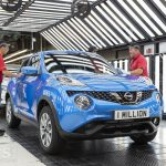 Nissan Juke joins Qashqai, Micra and Primera in the 'Million in Sunderland' Club
