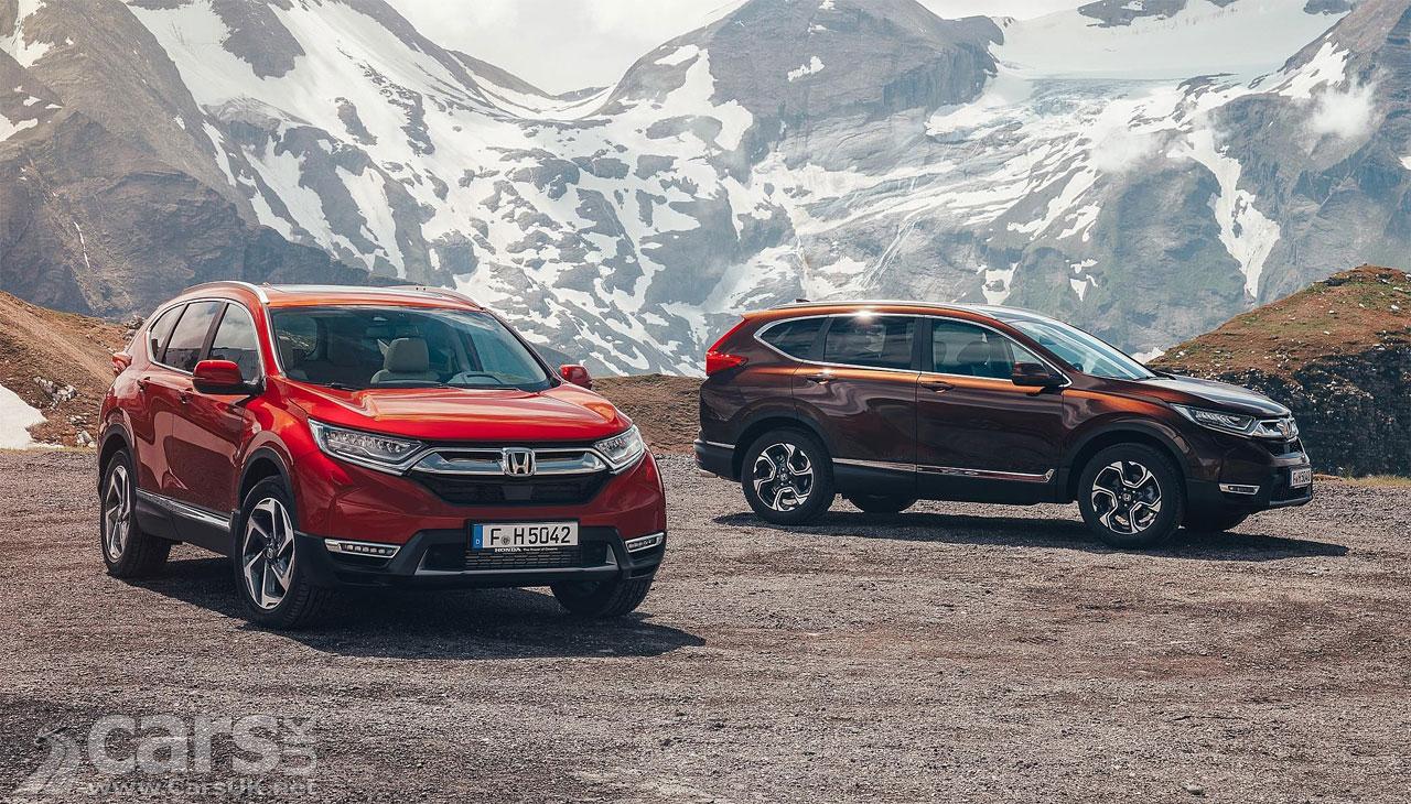 2018 Honda CR-V: News, Hybrid Version, Arrival >> New Honda Cr V Uk Prices And Specs Announced But Not The