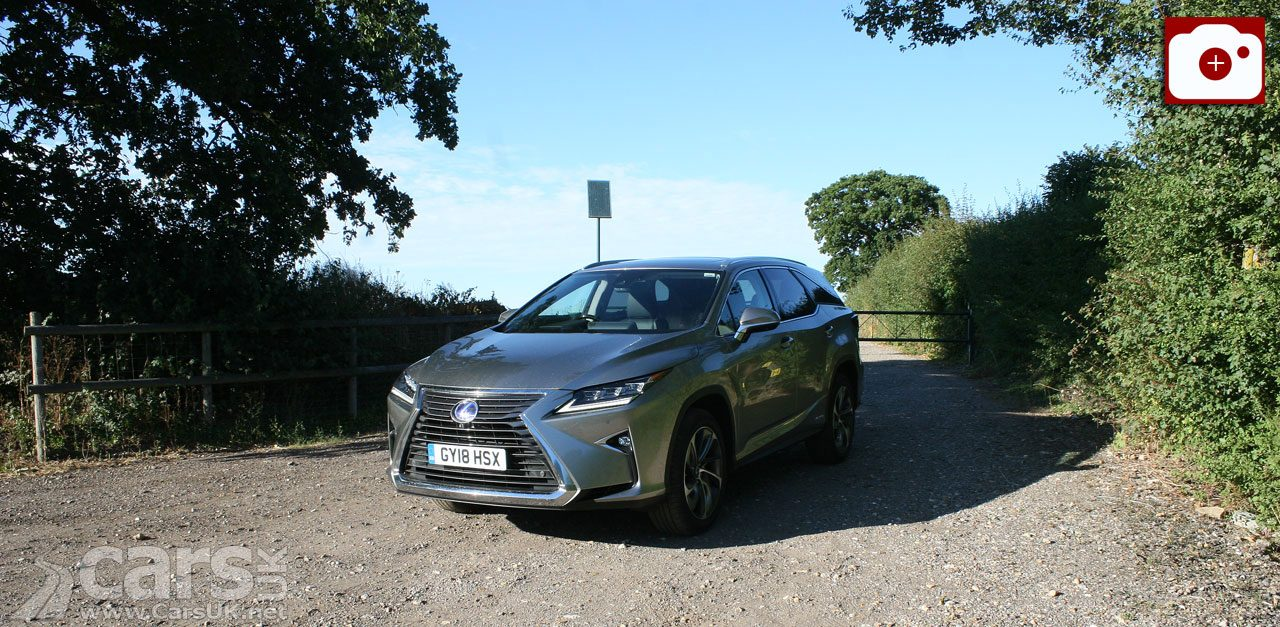 The new 7-seat Lexus RX450h L Premier in for review and road test