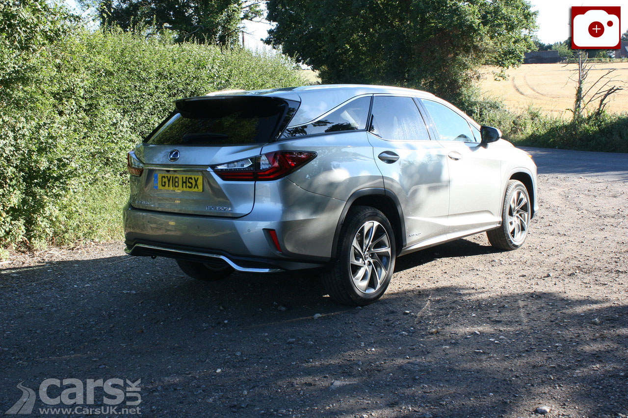 Lexus RX 450h L on the road