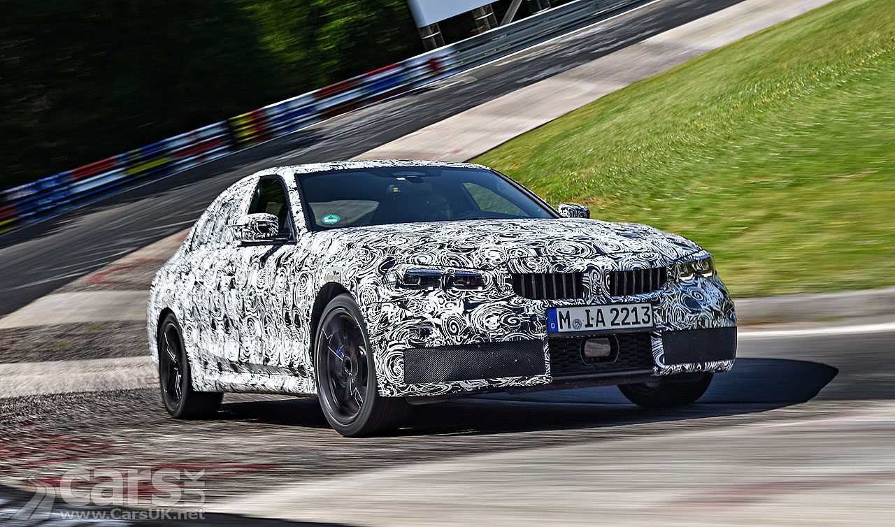 2019 BMW 3-Series official spy photo