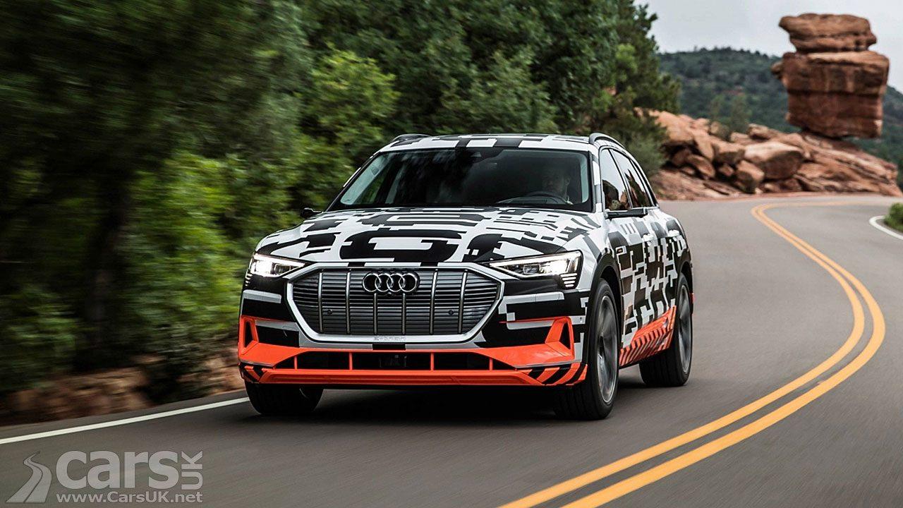 The Audi e-tron specs detailed