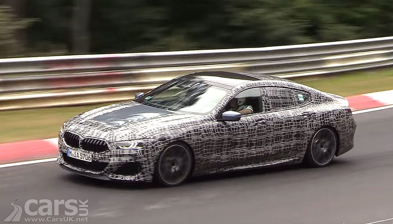 BMW 8 Series Gran Coupe SPIED on video testing