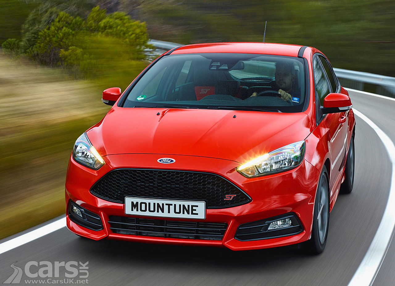 Ford Focus ST Diesel gets a bit of a BOOST from Mountune