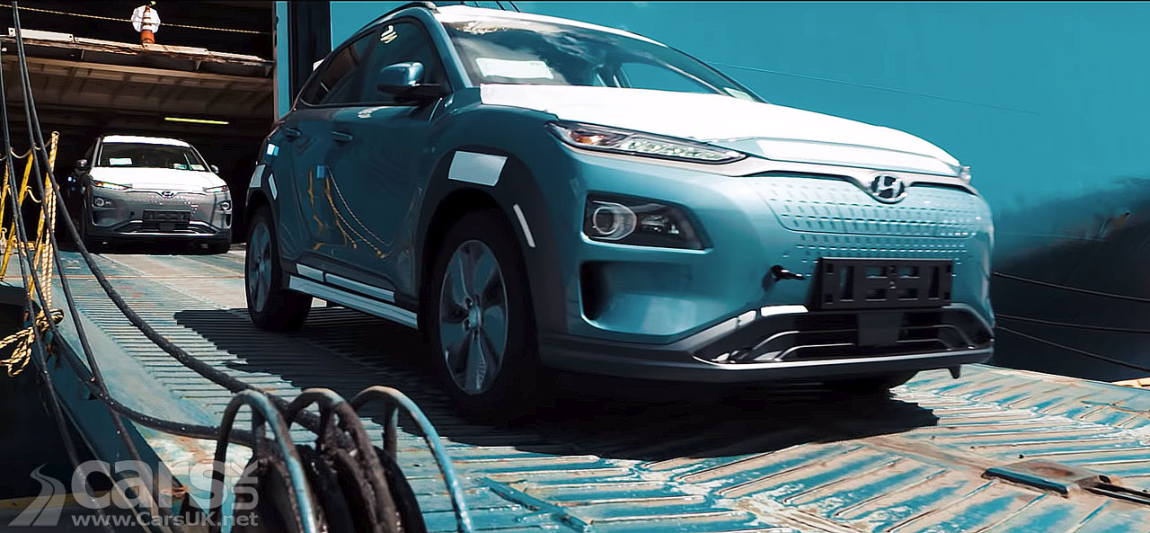 The electric Hyundai Kona starts to arrive in Norway