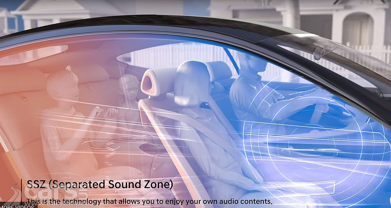 Hyundai Separated Sound Zone technology