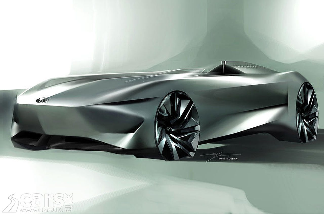 Infiniti Project 10 ELECTRIC Speedster - heading for Pebble Beach
