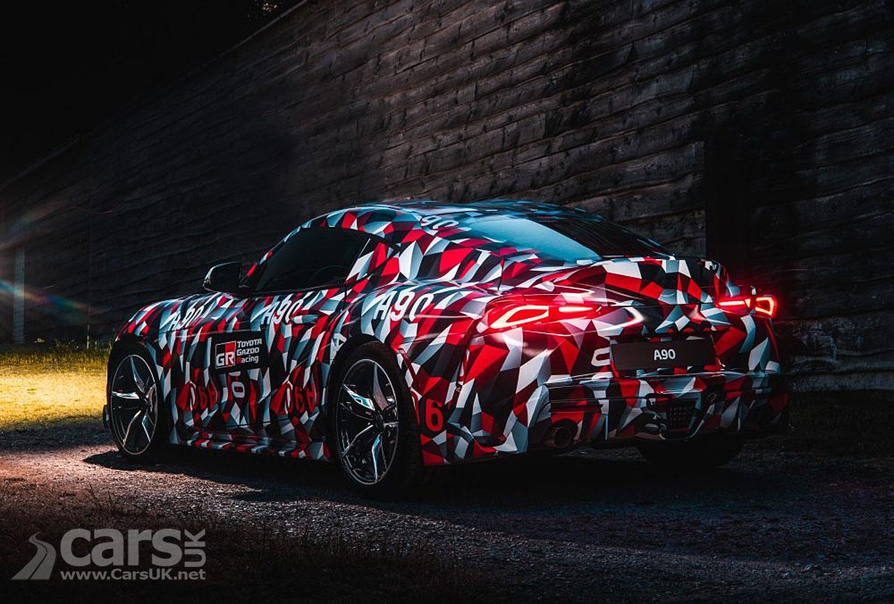 New Toyota Supra CAMOUFLAGE