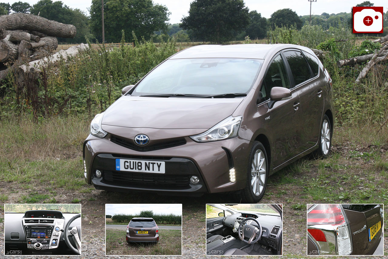 Toyota Prius+ Excel Plus Review Photo Gallery
