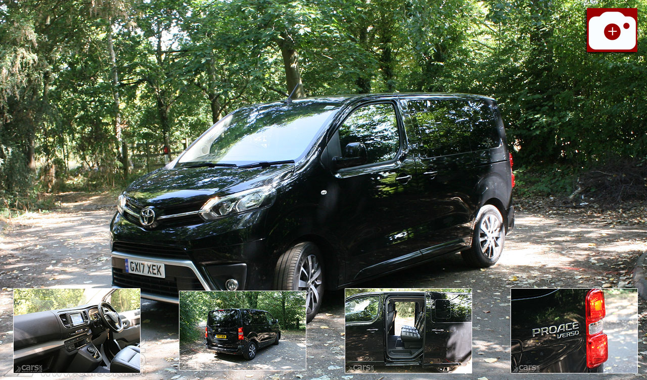 Toyota Proace Verso Compact Family Review Photo Gallery