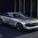 Peugeot e-Legend concept: Peugeot goes Back to the Future