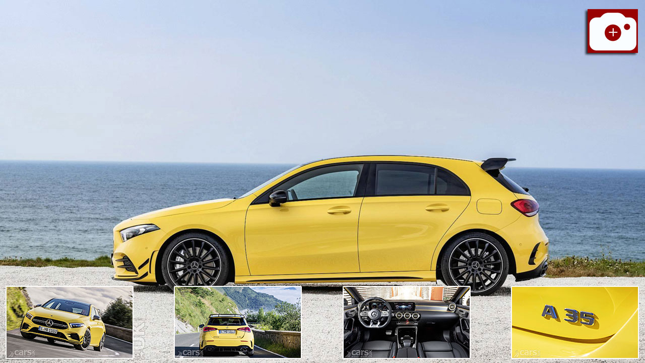 2019 Mercedes-AMG A 35 Photo Gallery