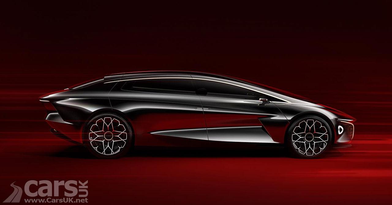 Aston Martin's St Athan Plant - home to electric Lagondas