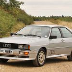 1982 Audi Quattro – UK's first RHD Quattro Coupe – up for grabs